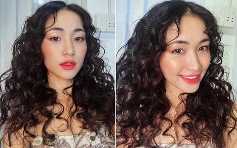 Chán làm nàng thơ dịu dàng, Hòa Minzy biến thành nàng tiên cá mì xào giòn với mái tóc xoăn nhất từ trước đến nay