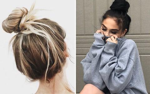 Không phải kiểu gì cầu kỳ, tóc búi lười biếng đậm chất mẹ bổi mới là trend các nàng đang mê nhất