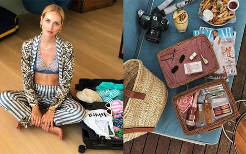 Đây là những thứ không thể thiếu trong vali của các fashionista thế giới mỗi khi đi du lịch