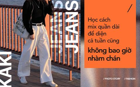 Đẳng cấp fashionista với những tuyệt chiêu mix đồ cùng quần dài