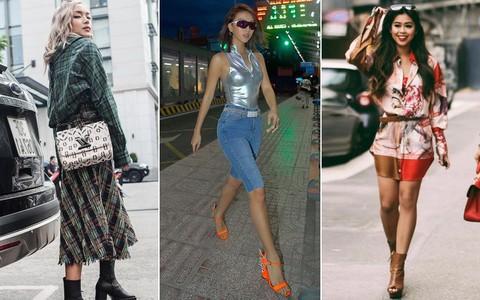 Thu mới chớm mà dàn sao và hot girl Việt đã khoe 1001 kiểu street style, kiểu nào cũng dát đầy hàng hiệu!