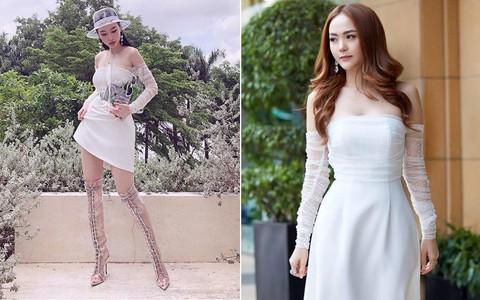 Cùng một chiếc váy: Angela Phương Trinh lồng lộn, Minh Hằng lại quá bánh bèo