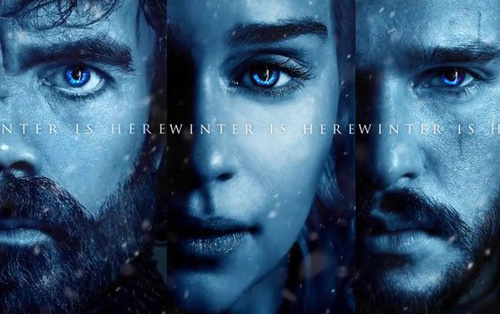 """""""Game of Thrones"""" tung bộ poster """"mùa đông"""" dự đoán kết cục của các nhân vật"""