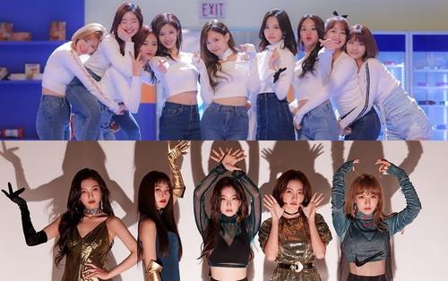 """Cuộc chiến Kpop tháng 11: TWICE, Red Velvet đồng loạt comeback, fan """"kêu gào"""" vì thiếu vắng Blackpink"""