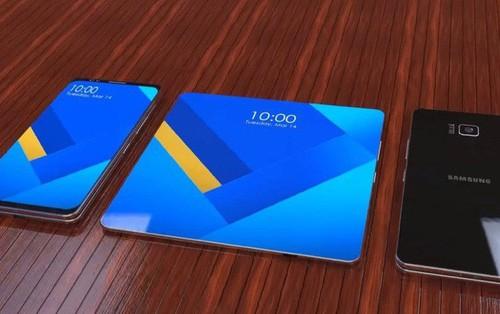 Smartphone màn hình gập của Samsung sẽ được hé lộ vào tháng tới, năm sau mới lên kệ
