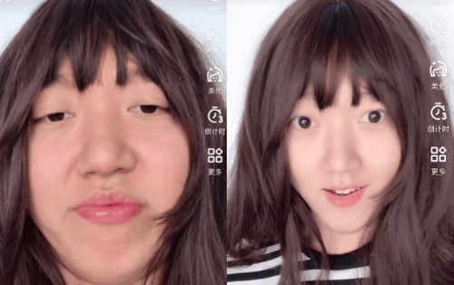 Chỉnh da, gọt mặt xưa rồi bây giờ có cả app biến con trai thành con gái cực xinh nữa!