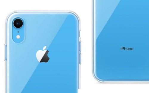 Cận cảnh mẫu case trong suốt đầu tiên của Apple, dùng để khoe màu sắc của iPhone XR