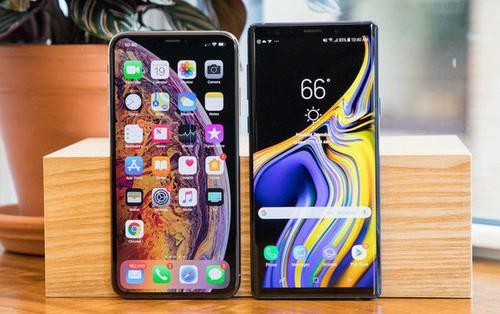 iPhone Xs Max vượt mặt Galaxy Note9 và Pixel 3 XL trong thử nghiệm pin mới nhất