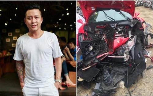 Tuấn Hưng lên tiếng về siêu xe Ferrari 16 tỷ gặp nạn: