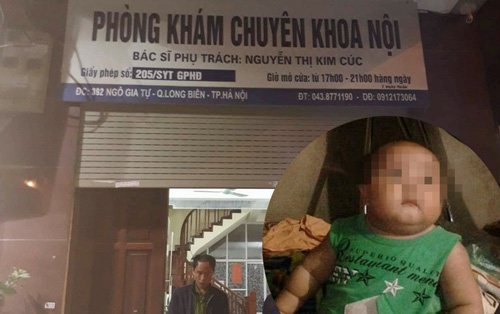 Xử lý như thế nào vụ bé trai 2 tuổi tử vong tại phòng khám tư ở Hà Nội?