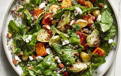 Muốn ăn salad để giảm cân thì phải chọn nguyên liệu như thế này, sai món là bạn sẽ tăng cân ngay