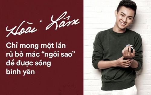 """Đằng sau tuyên bố dừng ca hát 2 năm của Hoài Lâm: Chỉ mong một lần rũ bỏ mác """"ngôi sao"""" để được sống bình yên"""