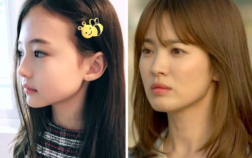 Song Hye Kyo phiên bản nhí mới 10 tuổi đã có hơn 1 triệu followers trên MXH
