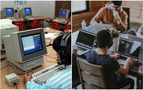 13 bức ảnh chứng minh máy tính trong trường học hàng chục năm qua đã thay đổi chóng mặt như thế nào