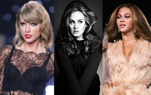 5 nghệ sĩ nữ sở hữu album xuất sắc nhất nửa đầu thập niên này do Billboard bình chọn là ai?