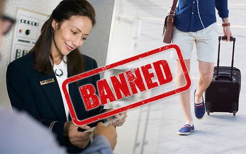 Bị hãng hàng không Saudia cấm lên máy bay vì mặc quần short, vị hành khách đã ứng biến nhanh theo cách này