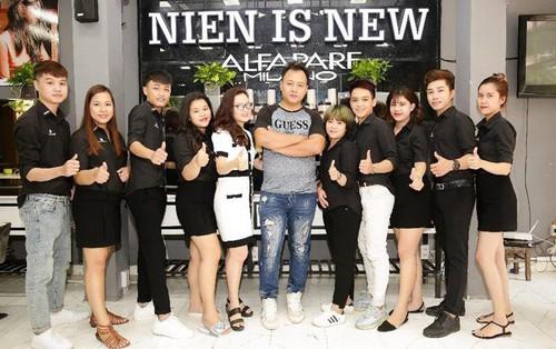 Nien is New, salon tóc đẳng cấp và sáng tạo tại Đà Nẵng