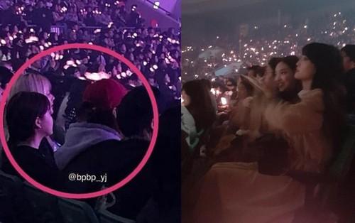 Thật bất ngờ: TWICE và Red Velvet cùng nhau đến cổ vũ cho concert đầu tay của BlackPink đây này!
