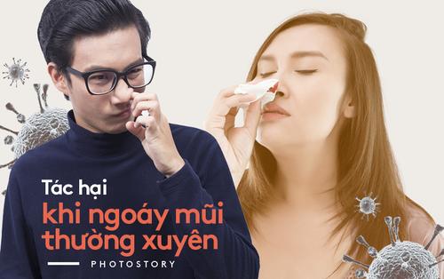 Hãy cẩn thận với thói quen ngoáy mũi tưởng chừng như vô hại của bạn!