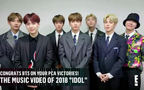 BTS càn quét lễ trao giải