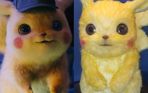 Lên phim mềm mượt đáng yêu là thế nhưng tượng mẫu của Pikachu ngoài đời gây hoảng hồn vì xơ xác như chuột đồng