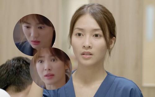 """Cười xỉu với clip chế từ fan """"Hậu Duệ Mặt Trời"""" bản Việt: Khả Ngân bị Song Hye Kyo """"dập"""" tơi bời"""