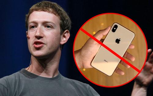 """Sôi máu vì bị Apple """"đá xéo"""", Mark Zuckerberg cấm tiệt nhân viên dùng iPhone cho hả giận"""