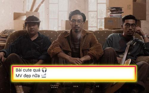"""MV """"Anh đếch cần gì nhiều ngoài em"""" đang nhận được cơn mưa lời khen, trong đó có cả JustaTee và Á hậu Thùy Dung"""