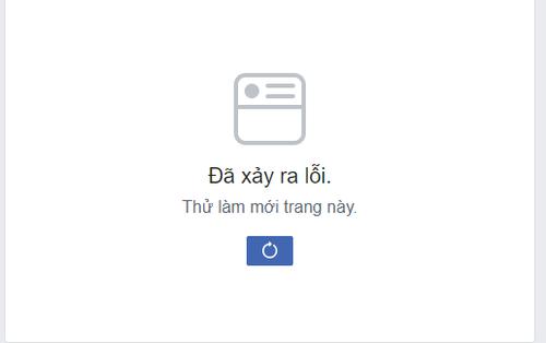 """Trưa Chủ nhật Facebook lại """"sập"""" không tải được bảng tin, lần này người dùng Việt Nam nhanh tay báo bạn bè quốc tế"""