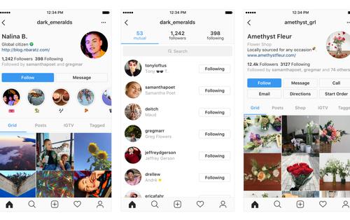 Instagram nhá hàng update