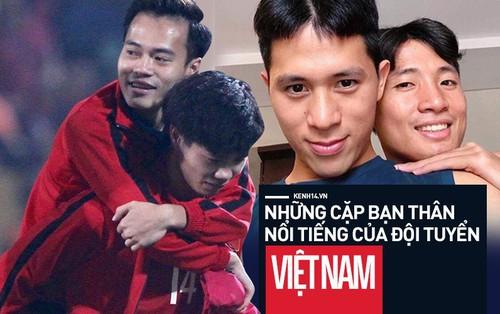 Những cặp bạn thân trong đội tuyển Việt Nam được fan tích cực