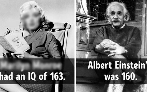 10 sự thật khó tin cho ngày đầu tuần thêm vui vẻ: Chỉ số IQ của Einstein lại thấp hơn một nữ diễn viên