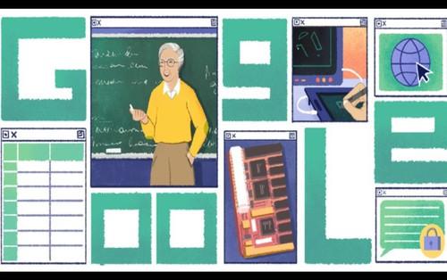 Google Doodle hôm nay: mừng sinh nhật người tiên phong cho cách mạng công nghệ 4.0