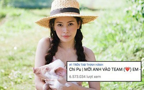 Hơn 3 ngày ra mắt, MV 16+ của Chi Pu chính thức chinh phục được No.1 Trending Youtube