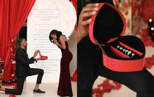 Đi cầu hôn nhưng không tự tin lắm? hãy mang hẳn 6 cái nhẫn kim cương như thanh niên dưới đây để chắc chắn thành công