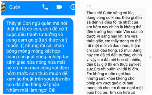 Khi dân chuyên Văn xin nghỉ học: Văn thơ lâm li bi đát, câu chuyện drama khiến giáo viên chỉ biết gật đầu đồng ý