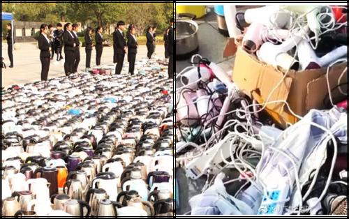 """Choáng váng với khung cảnh """"đội quân vest đen"""" tịch thu hơn 3500 thiết bị điện của sinh viên ở ký túc xá"""