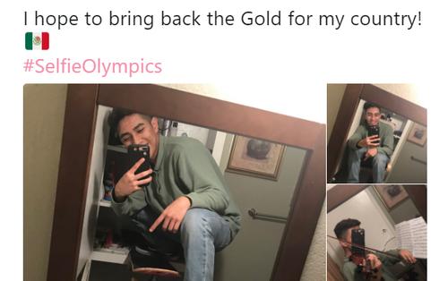 """Dân mạng đang hò nhau tham gia """"Olympic tự sướng"""" xem ai selfie sáng tao nhất"""