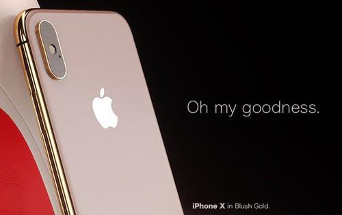 Ngắm concept iPhone X Blush Gold và (PRODUCT)RED, đẹp đến nỗi khó trở thành hiện thực