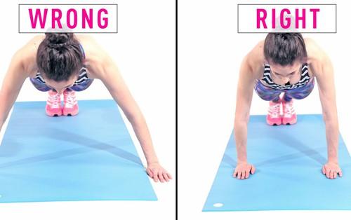Những sai lầm lớn nhất khiến bài tập plank của bạn trở nên vô tác dụng