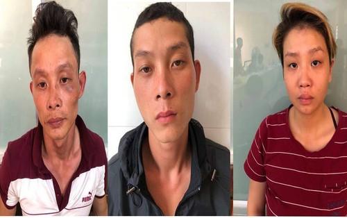 """Thanh niên cùng bạn gái và anh ruột rủ nhau cướp tài sản đi """"bão"""" ở Sài Gòn"""