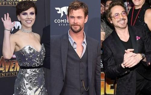 Thảm tím Avengers: Loạt siêu sao quy tụ hoành tráng như lễ trao giải Oscar, nhưng thiếu 1 người quan trọng!