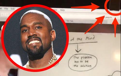 Kanye West bắt chước Mark Zuckerberg dán băng dính che camera laptop vì sợ bị nhìn trộm
