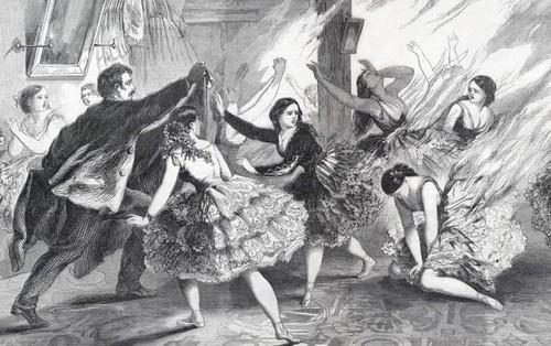 """Thảm họa thời trang thế kỷ 19: Hàng loạt phụ nữ bị thiêu sống vì bộ váy """"thời thượng"""" này"""