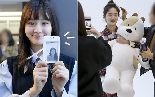 """Ai cũng sốc khi biết tuổi thật của """"nữ sinh"""" là """"gà cưng"""" mới của JYP này"""