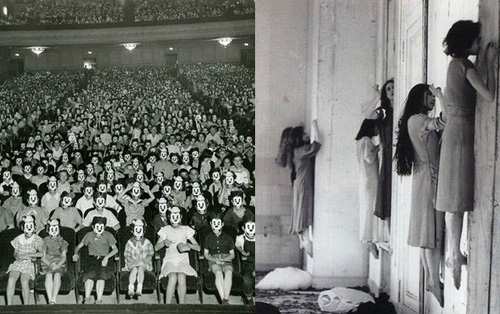 100 năm trước đây là những tấm ảnh bình thường, còn bây giờ càng nhìn càng thấy rùng rợn khó tả