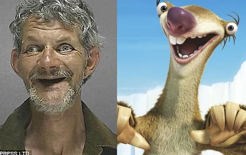 """Những tấm ảnh """"xộ khám"""" hài hước của tù nhân Mỹ: kẻ chỉ có 3 răng, người thì nhìn y chang con lười trong phim Ice Age"""