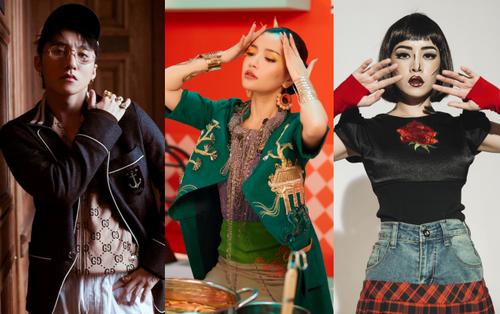 MV của Sơn Tùng và Bích Phương tranh nhau No.1 Trending căng thẳng, Chi Pu lọt Top 5 sau 20 tiếng