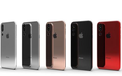 iPhone X Plus sẽ có 5 màu bóng lộn kiêu sa, 3 camera ở mặt sau?