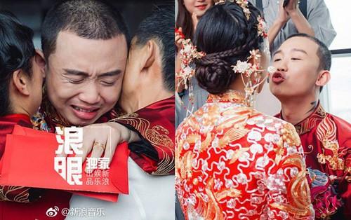Đối thủ PGone tổ chức đám cưới ngọt ngào với bạn gái lâu năm, ôm bố mẹ vợ khóc nức nở